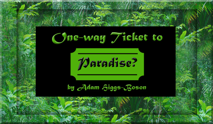 One-way Ticket to Paradise? by Adam Higgs-Boson