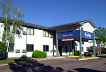 The Travelodge on Ore Mill Road