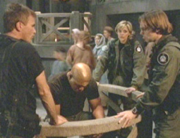Teal'c caves too easily