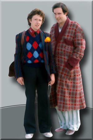 Ford Prefect and Arthur Dent