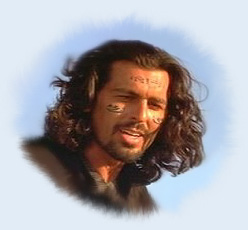 Ardeth Bey, played by Oded Fehr. Now THAT'S what I call 'a hunk'!
